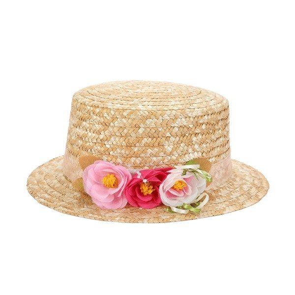 Sombrero canotier para bodas