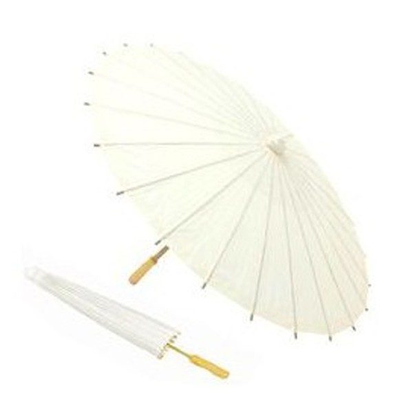 Sombrilla de bambú