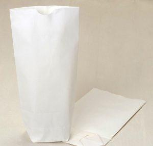 Bolsas papel blanco pack 50 und.