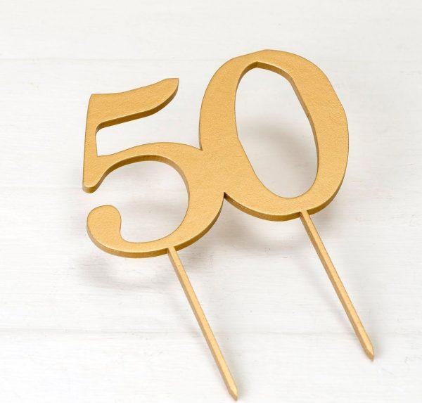 Cake Topper 50 aniversario