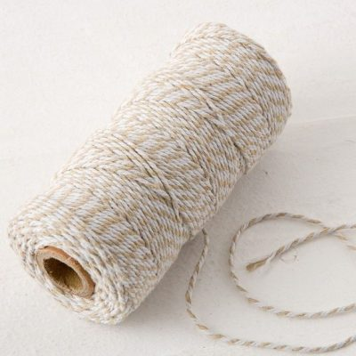 Cordón hilo marrón